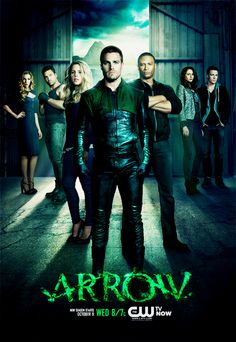 Arrow - After binging on S1 via Netflix. I'm enjoying this show. It's fun, you can't take it too seriously, but it's a nice escape.