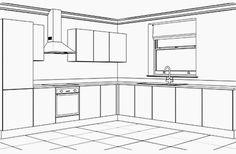 Kitchen Cabinet Design, Kitchen Cabinets, Rugby Workout, Yellow Kitchen Designs, Interior Architecture Drawing, Narrow Living Room, Interior Designing, Decoration, Kitchen Remodel