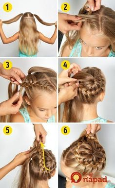Here is a collection of 25 easy little girl hairstyles! There are loads of cute hairstyles for little girls which will help inspire you! Easy Little Girl Hairstyles, Baby Girl Hairstyles, Up Hairstyles, Braided Hairstyles, Toddler Hairstyles, Everyday Hairstyles, Hairstyle Ideas, Hair Ideas, Wedding Hairstyles