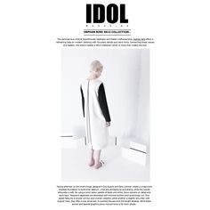 Featured on the amazing IDOL Magazine with our new collection.  http://idolmag.co.uk/blog/orphan-bird-ss15-collection