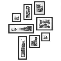 Set of 8 Italian Collection Photo Frames - Casafina