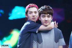 |EXO| Luhan and D.O (Kyungsoo) :3 :3 :3
