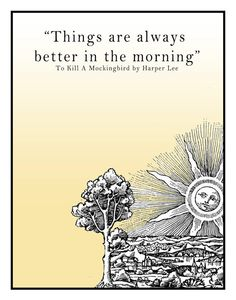 Things are always better in the morning Quote by AnInspiredImage, $19.95
