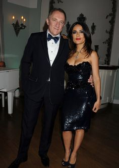 What Lot Spots...: Red Carpet Spot • Salma Hayek at the Vanity Fair & Gucci Cannes Film Festival Dinner Party