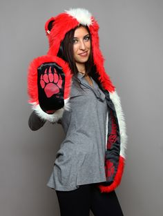 Team SpiritHoods:  WISCONSIN BADGER