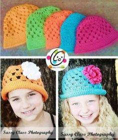 Sunny Brimmed Cloche Free Crochet Pattern - Snappy Tots