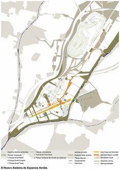 Paisaje Transversal Blog: Plan de Ordenación Municipal de Montmeló Concept Board Architecture, Site Analysis Architecture, Architecture Presentation Board, Architecture Collage, Architecture Graphics, Landscape Diagram, Landscape Plans, Design Lab, Location Analysis