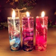 1 Pcs New aromathérapie sans fumée bougies océan de gelée aromathérapie huile…