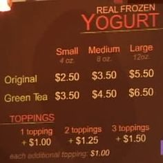 Photo of Red Mango - Los Angeles, CA, United States. Pricing
