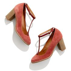 Sessùn™ Kenai T-Strap Heels... you could never afford them, but oh they're beautiful.