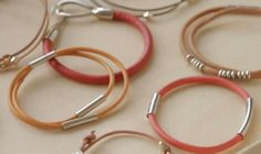 DIY: Leather Bracelets Videos | Bracelets How to's and ideas | Martha Stewart