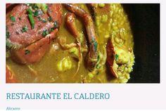 5.REST. EL CALDERO C/ VIRGEN DEL SOCORRO, 68ALICANTE-03002 Telf. Reservas:  965163812
