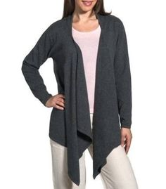 Navy Panelled Waterfall Cardigan | Bought it! | Pinterest | Ladies ...