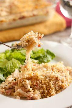 Chicken Cordon Bleu Casserole - Cooking Classy