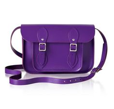 The Cambrige Satchel in purple