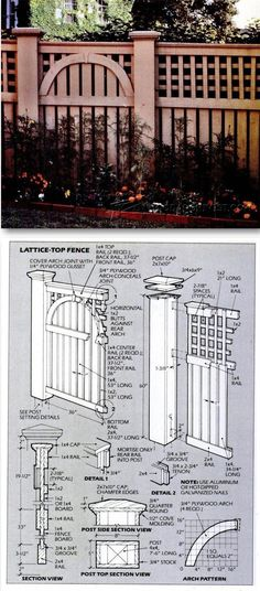 Building Wood Fence - Outdoor Plans and Projects  | WoodArchivist.com