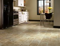 Bedrock Ridge - Brown Sugar | G9060 | Vinyl Sheet Flooring