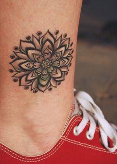 Flower tattoo. Ink Think | tattoos picture flowers tattoo