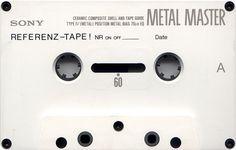 SONY METAL MASTER IV 60_A Casette Tapes, Cassette Recorder, Tape Recorder, Recording Equipment, Audio Equipment, Sony, Nostalgia, Bookshelf Speakers, Hifi Audio
