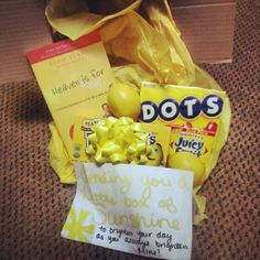 Sending you a little box of sunshine! Box Of Sunshine, Little Boxes, Pop Tarts, Snack Recipes, Chips, Yahoo Search, Breakfast, Image Search, Gifts