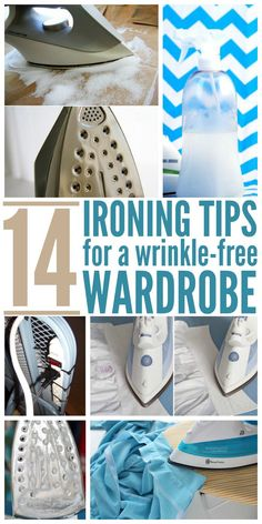 14 Ironing Tips for a Wrinkle Free Wardrobe Home Cleaning Remedies, Cleaning Tips, Cute Sewing Projects, Sewing Tips, Sewing Hacks, Laundry Design, Home Fix, Laundry Hacks, Laundry Rooms