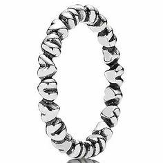 Pandora ring (190837 - $35.00) available at Keswick Jewelers in Arlington Heights, IL 60005 www.keswickjewelers.com