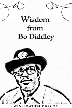 Craig Parker Adams shares a story about Bo Diddley & the important music lesson he learned from him. Craig Parker, Music Guitar, Music Lessons, Lyrics, Audio, Wisdom, Album, Learning, Movie Posters