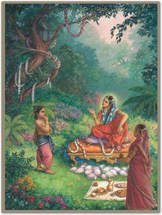Srimati Radhika sends Gopa Kumar on a mission