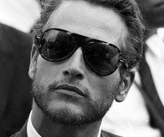 Paul Newman in vintage Carrera sunglasses