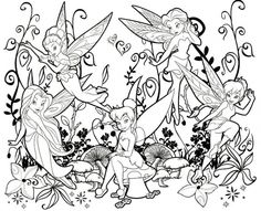 Cute Fairy Coloring Pages Coloring pages