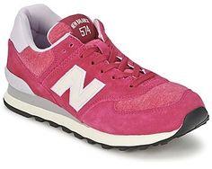 New Balance Sneaker Low WL574 Burgunderrot