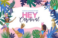Hey, Carnival ~ Illustrations ~ Creative Market