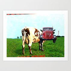 Red Floyd Art Print by Marko Köppe - $19.99