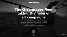 The Greenpeace fleet: taking the helm of all campaigns. Embark on Greenpeace's boats and find out about their epic journeys over the last 40 years. Boots and waterproofs recommended.