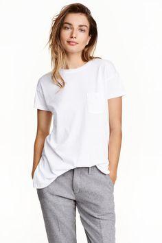 Хлопковая футболка | H&M
