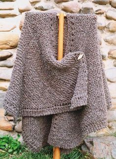 Knit Ruana | Craftsy