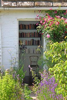 Virginia Woolf's bedroom, as seen from the garden.  Monk's House, Sussex, England.