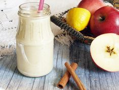 Glass Of Milk, Smoothies, Food And Drink, Fitt, Drinks, Recipes, Shake, Smoothie, Drinking