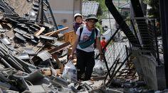 Schweres Erdbeben in Japan: Unter Kyushu bebt der Boden