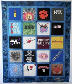 Classic T-Shirt Quilt for a graduate