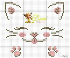 Baby Cross Stitch Patterns, Cross Stitch Borders, Cross Stitching, Cross Stitch Embroidery, Cross Stitch Bookmarks, Mini Cross Stitch, Cross Stitch Animals, Crochet Waffle Stitch, Valentine Gift Baskets