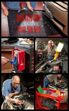 Cool Auto Shop Tools You Need: A garage mechanic's wish list: all the tools you could ever need (and want) in your shop for car maintenance. http://www.familyhandyman.com/automotive/car-maintenance/cool-auto-shop-tools-you-need