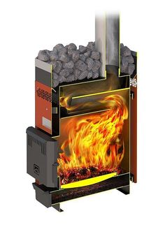 Gas Bottle Wood Burner, Build Outdoor Fireplace, Rocket Stove Design, Grain Dryer, Diy Wood Stove, Oil Heater, Sauna Design, Garden Fire Pit, Stove Fireplace
