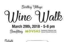 Next Thursday 3/29 at 5pm - Barkley Village Wine Walk