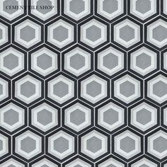 Cement Tile Shop - Encaustic Cement Tile Strata II, $7.50/sf
