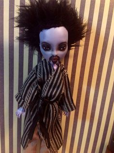 GOMEZJUICE Monster High Custom Altered Art Doll by Refabrications