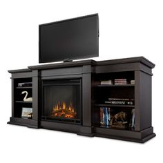 Architecture: real flame fresno electric fireplace amazing 71 inch gel entertainment center dark for 19 Gel Fireplace, Tv Over Fireplace, Fireplace Inserts, Media Fireplace, Fireplace Ideas, Pallet Fireplace, Fireplace Console, Fireplace Drawing, Fireplace Candles