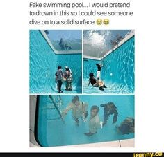 fake, drown, prank