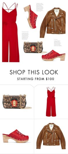 """...and the Beat Goes On... 😉😎🎸"" by badassbabyboomer ❤ liked on Polyvore featuring Dolce&Gabbana, River Island, MR by Man Repeller and Acne Studios"