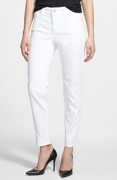 10 Wardrobe Essentials for Spring/Summer 2014 NYDJ 'Clarissa' Fitted Stretch Ankle Skinny Jeans, $104. At Nordstrom.